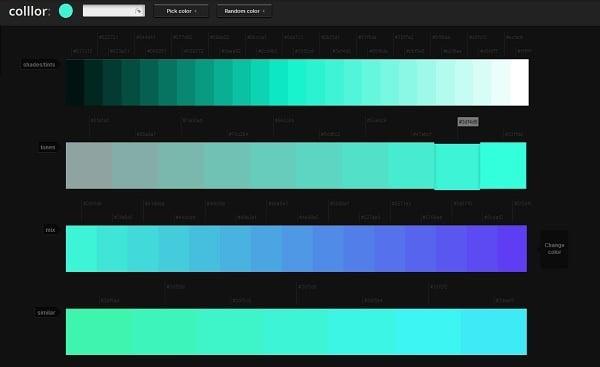 Colllor Color Palette Generator