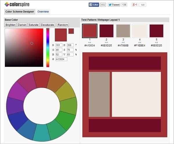 what color palette generator suits you best 46 cool color tools - Color Scheme Designercom