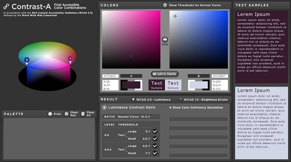 Contrast-A Color Palette Generator