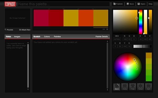 COPASO Color Palette Generator