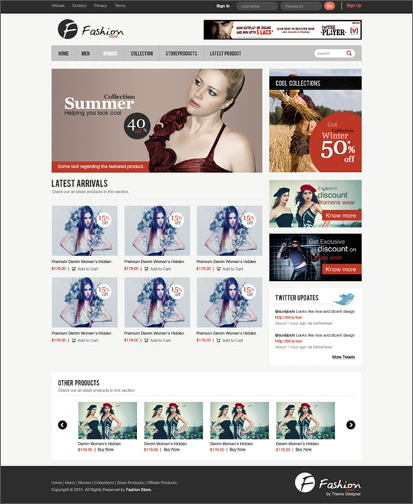 Create Website Layout In Photoshop 50 Step By Step Tutorials