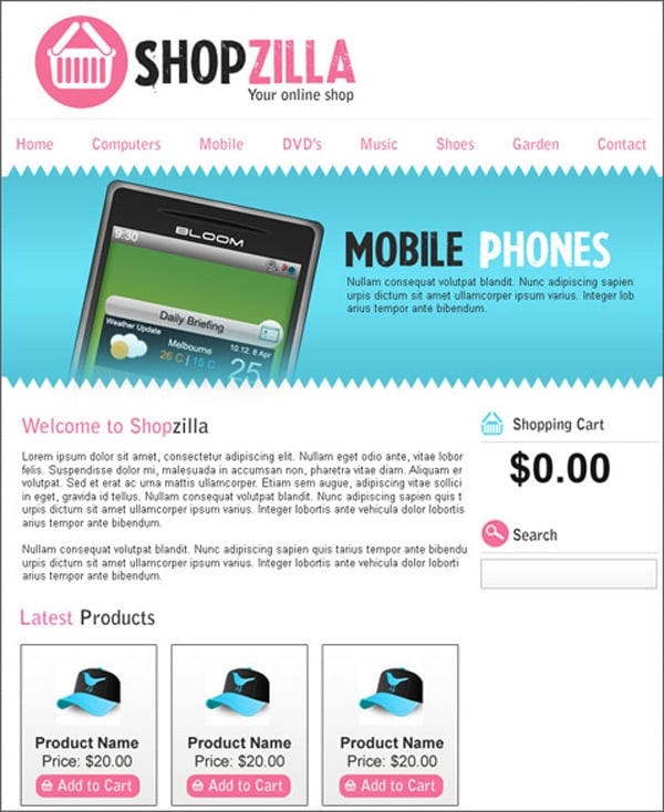 Create Website Layouts in Photoshop – 50 Step-by-Step Tutorials