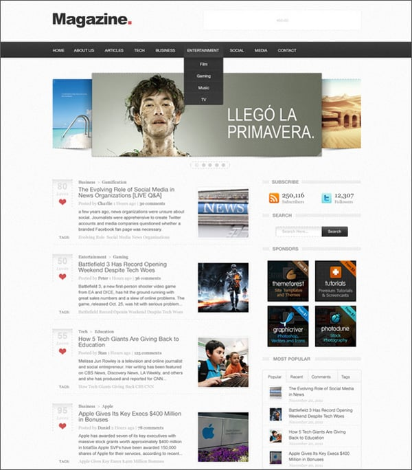 Create Web Layouts in Photoshop – 50 Step-by-Step Tutorials