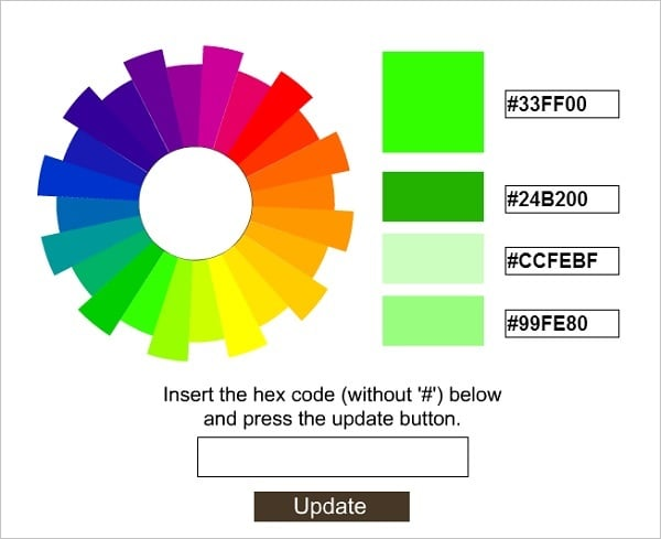 Hex Color Palette Generator