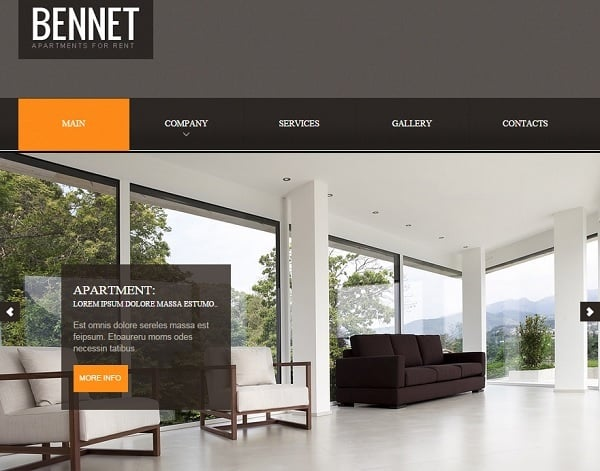 Web Template for Real Estate Agency