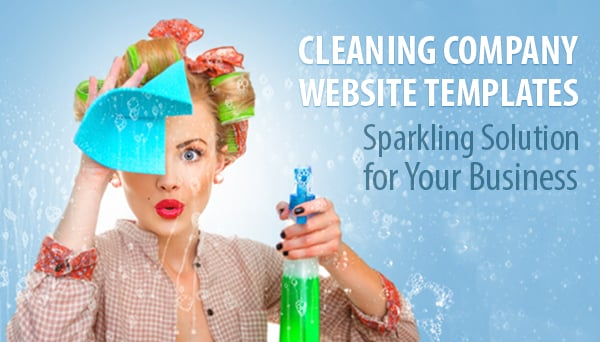Cleaning Company Website Templates - Sparkling Solution for Business