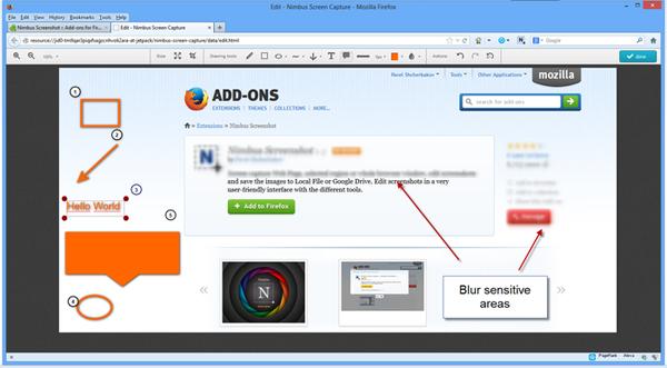 Firefox Screenshot Capture Addons - Nimbus Screenshot