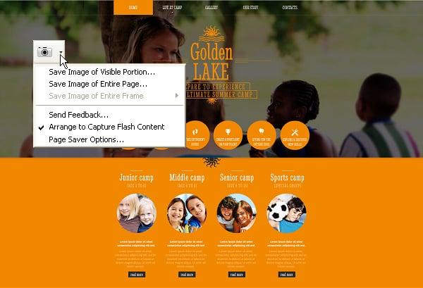 Firefox Screenshot Capture Addons - Page Saver