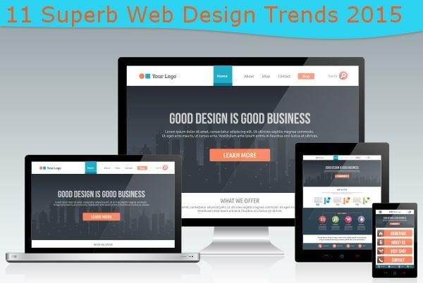 Check Out 11 Superb Web Design Trends 2015