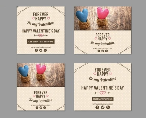 Valentine's Day Template Pack