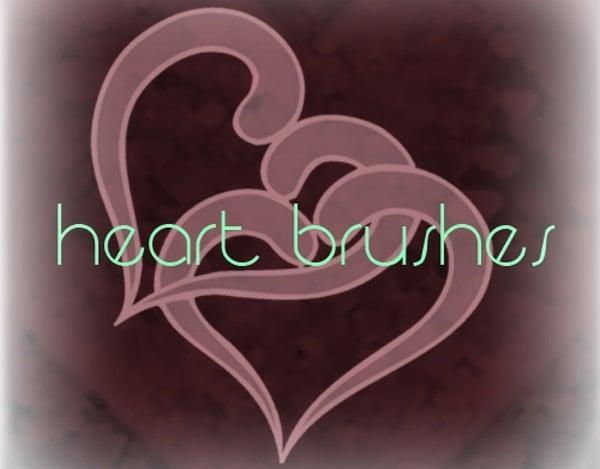 Heart Brush Pack