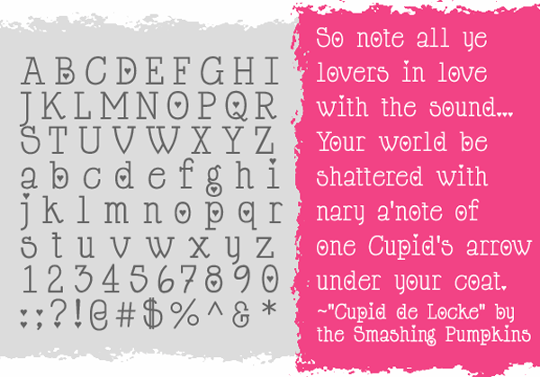 Cupid de Locke Font