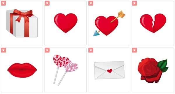Valentine Icons by Succo Design