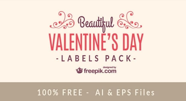 Valentines Day freebies - vector-3