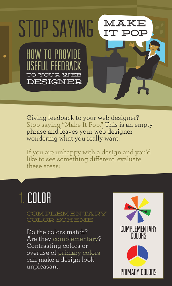 Tips for Providing Actionable Feedback to your Graphic Designer