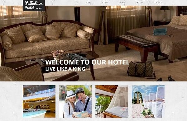 Building a Hotel Website - Hotel Website Template with Header Image Slider