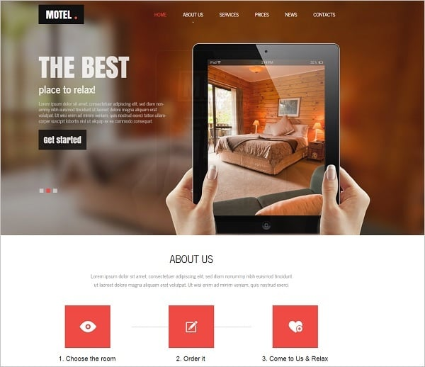 Building a Hotel Website - Mobile-Friendly Hotel Website Template