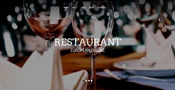 Restaurant Website Design for Business