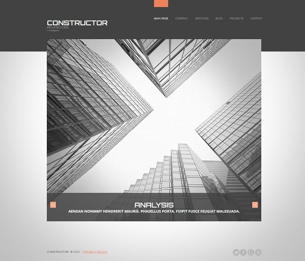 Creating a Website for Your Construction Business - Clean Template