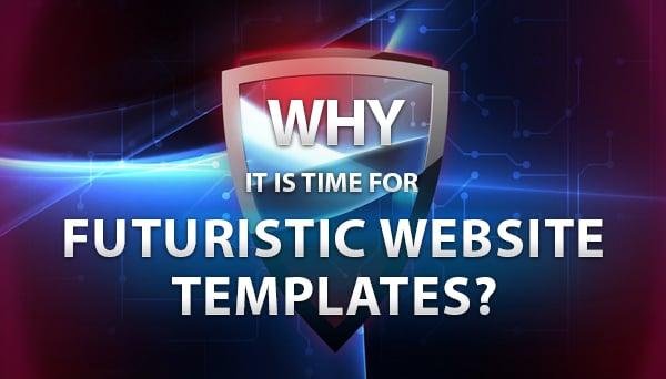 Futuristic Website Templates - main