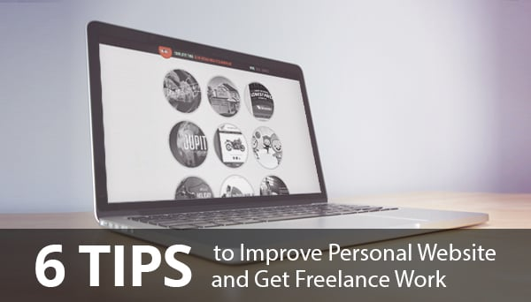 Improve Personal Website