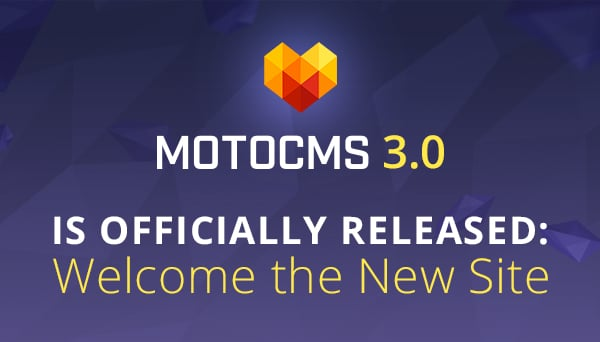 MotoCMS 3.0 Release - main
