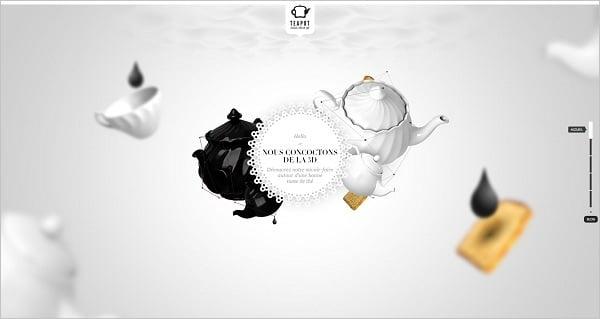 Parallax scrolling websites - teapot-creation