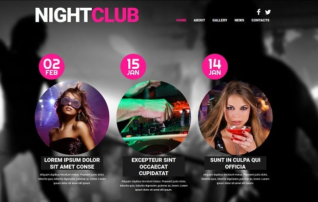 summer continues with motocms - night club