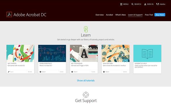 Optimize eCommerce site - Adobe Acrobat DC