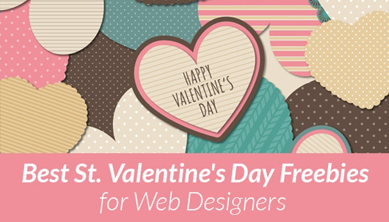 St. Valentine's Day Freebies - main