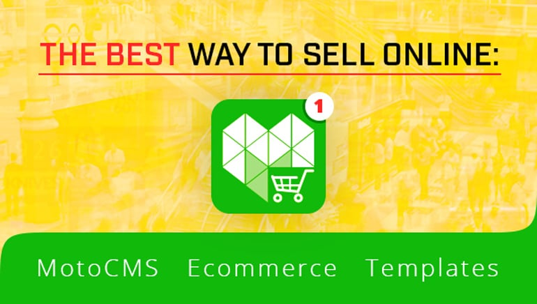 Ecommerce Templates of MotoCMS - main image