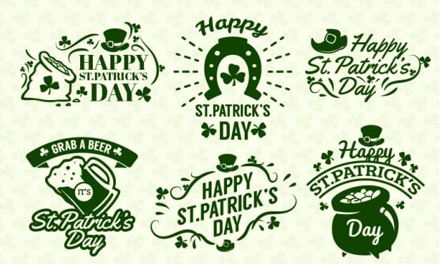 Saint Patrick's Day 2016 - badges