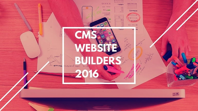 Best CMS website builders 2016 - main image