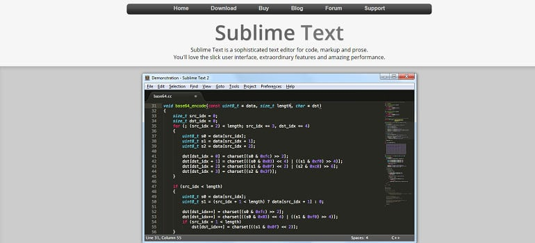 best-code-editors-for-laravel-sublime-text