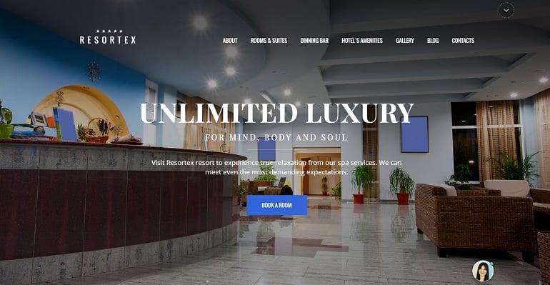 create-a-hotel-website-resortex
