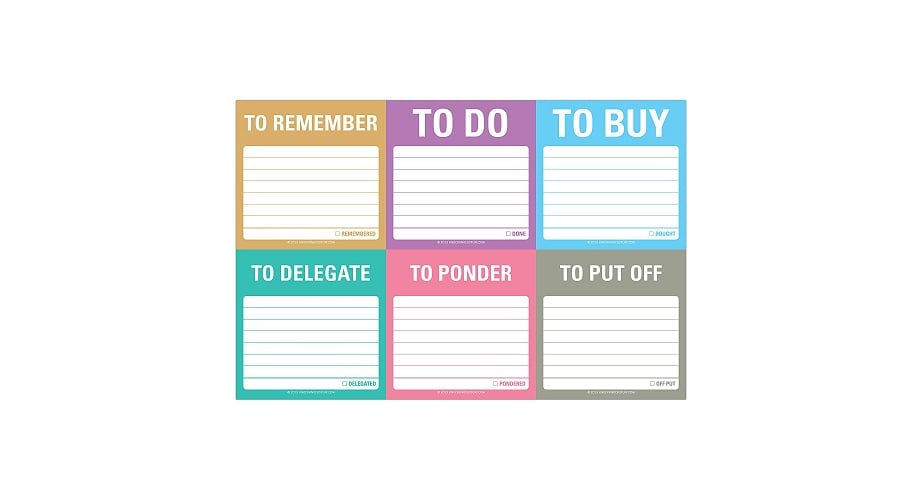 Gifts for web developers - sticky notes