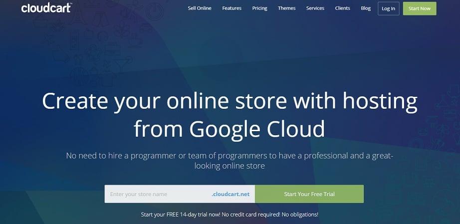 Best Website Builders for eCommerce 2017 - CloudCart website
