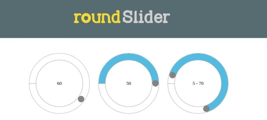 jQuery plugin tutorial - round slider