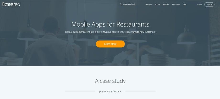Phone apps - biznessapps