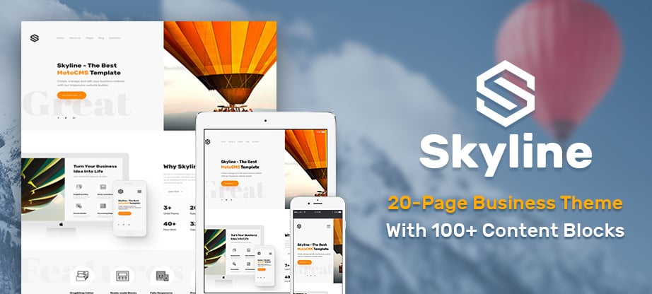 Skyline Business Website - main image