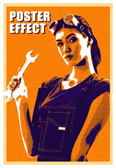 Poster effect
