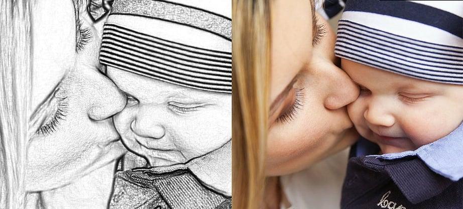 Sketch Artist Photo to Sketch effect