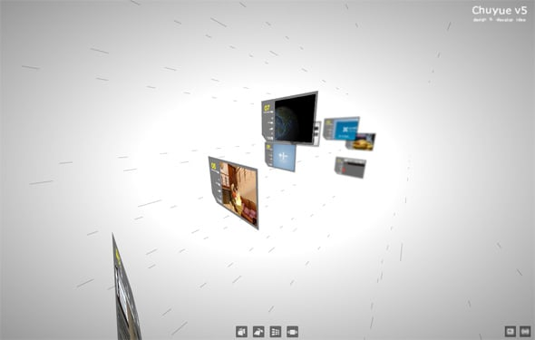 papervision 3D websites