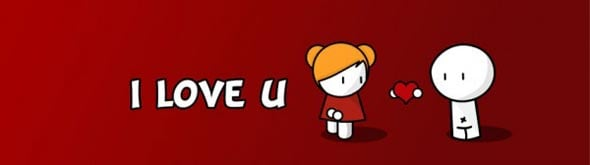 Lovely Facebook Timeline Covers For Valentines Day