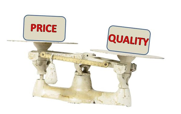 Price doesn't determine quality of hosting services you get