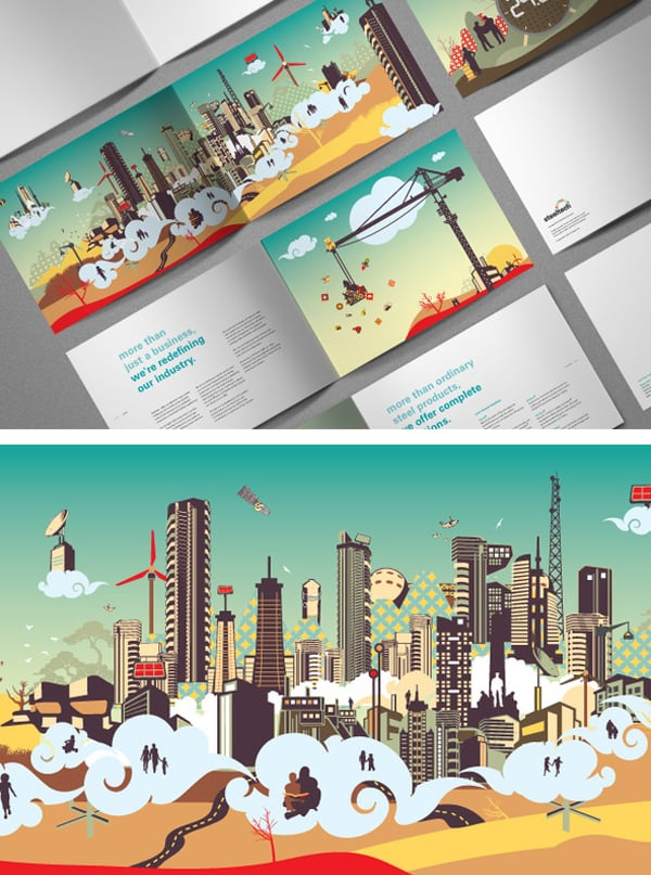 50 Amazing Brochures to Get Your Inspiration Out