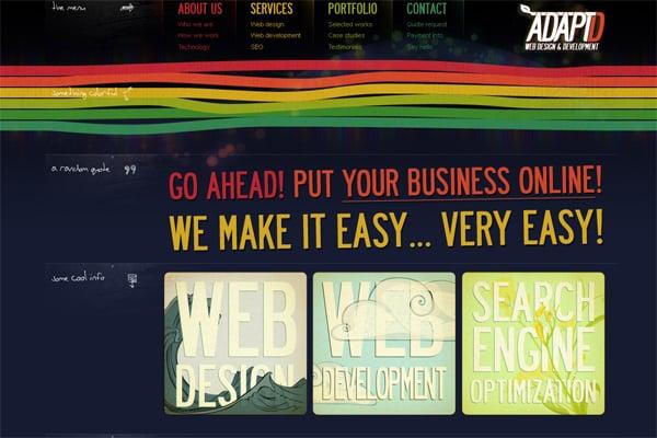 Inspirational Breakdown: 60 Typography-Driven Websites