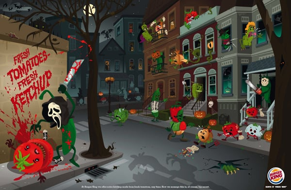 Trick-or-Treating: 36 Halloween Print Ads to Scare You