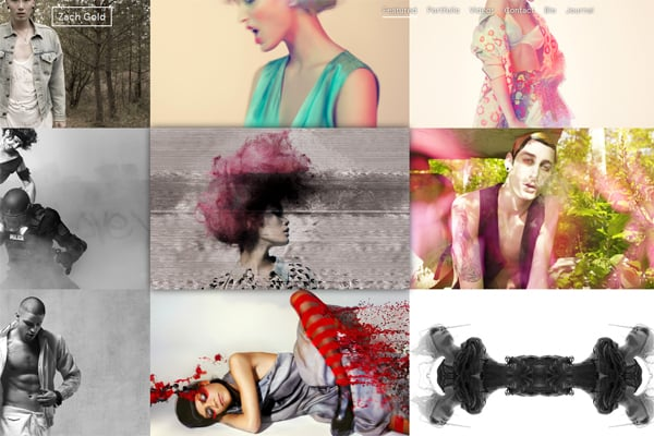 100 Smashing Websites with Photographic Background