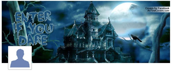 Haunted House Facebook Cover